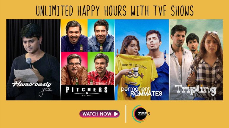 ZEE5 Partners With The Viral Fever (TVF)
