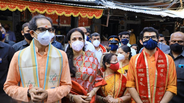 Uddhav Thackeray visits Mumba Devi temple as religious places reopen in the state