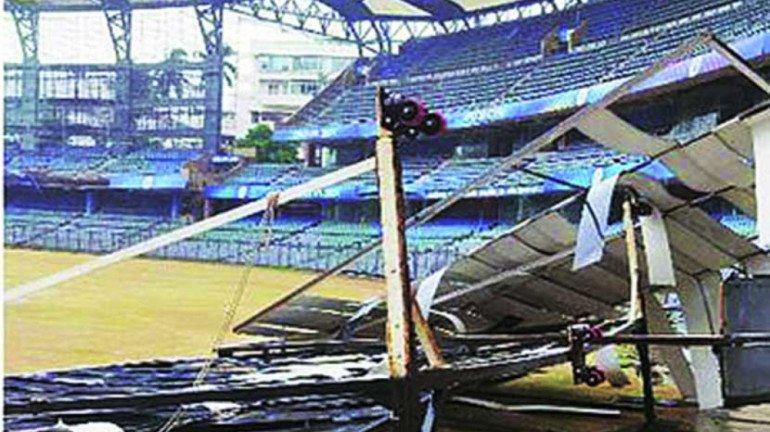 तौंते वादळाचा मुंबईतील 'या' स्टेडियमला मोठा फटका