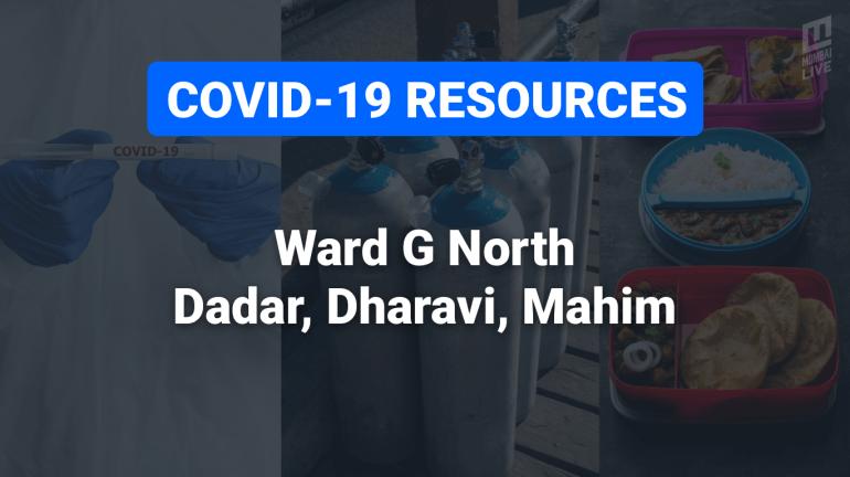 COVID-19 Resources & Information, Ward G North : Dadar, Dharavi, Mahim