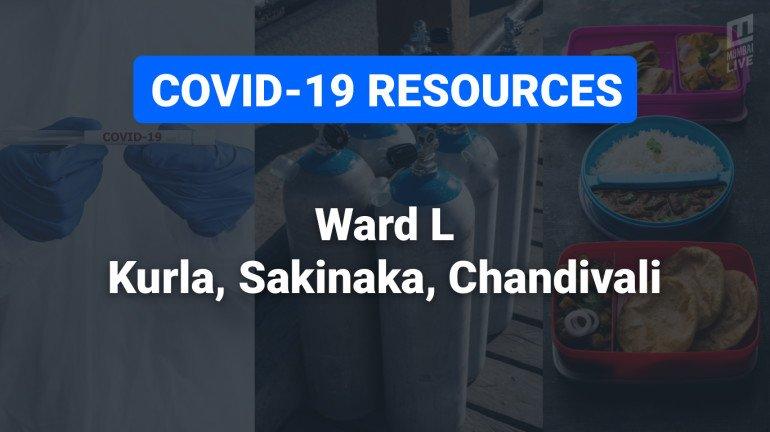 COVID-19 Resources & Information, Mumbai Ward L: कुर्ला पश्चिम, कुर्ला पूर्व, अंधेरी पूर्व