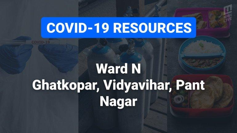 COVID-19 Resources & Information, Mumbai Ward N: घाटकोपर पश्चिम, घाटकोपर पूर्व