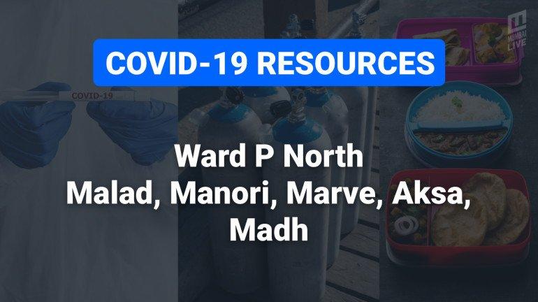 COVID-19 Resources & Information, Mumbai Ward P/N : मालाड (पू.), मालाड (प.)
