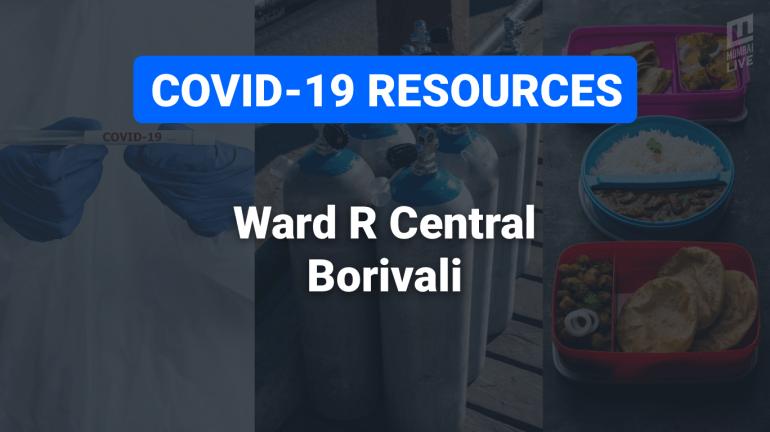 COVID-19 Resources & Information, Mumbai Ward R/C : बोरीवली