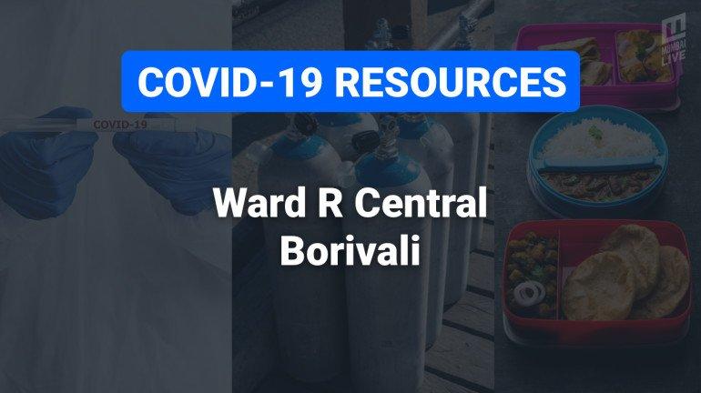 COVID-19 Resources & Information, Mumbai Ward R/C : बोरिवली
