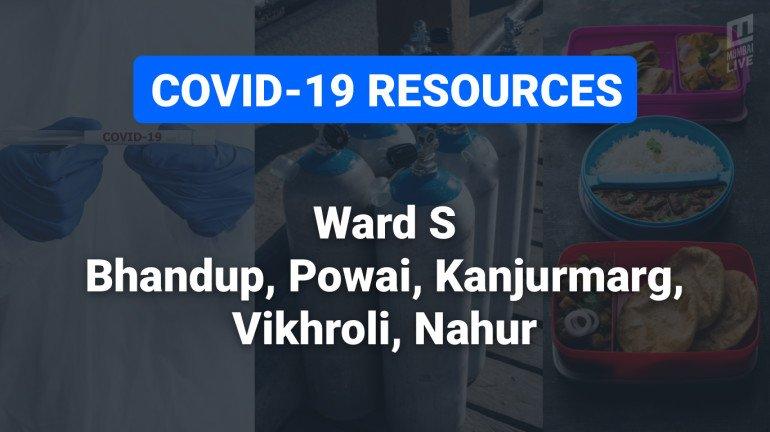 COVID-19 Resources & Information, Mumbai Ward S: भांडुप, कांजूरमार्ग, पवई