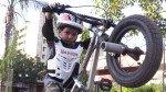 पाच वर्षांचा जीव..पण त्याचे स्टंट थरकाप उडवतात!