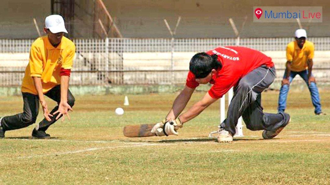 ब्लाइंड क्रिकेट स्पर्धा का आयोजन