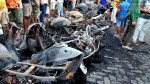 14 motorcycles go up in smoke in one night