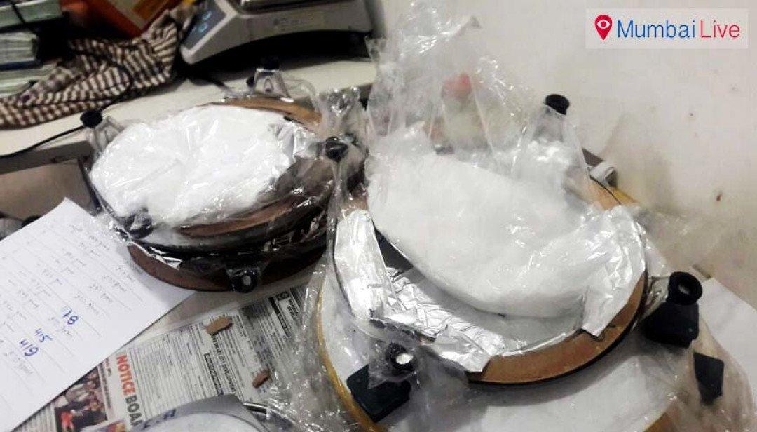 एयरपोर्ट पर 5 करोड़ की नशीली ड्रग बरामद