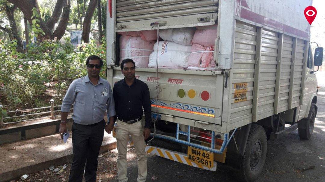 Police held 5 tempos at Dahisar Check Naka
