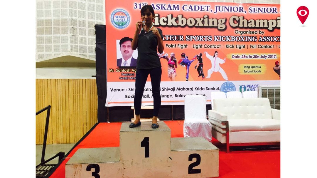 Mumbaikar bags gold in Kick-Boxing competition