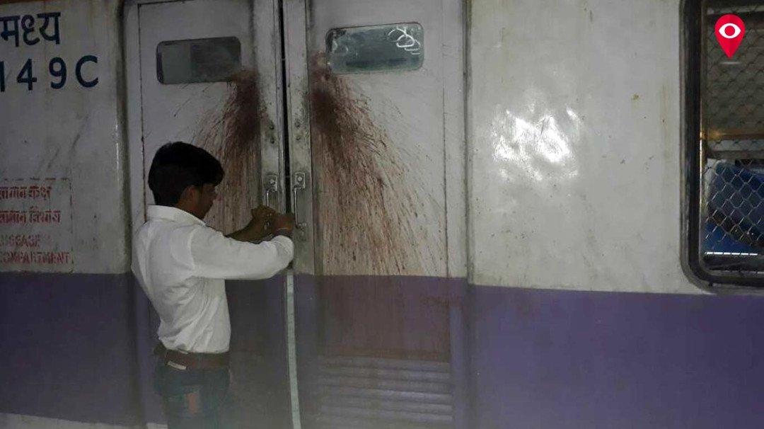 60 वर्षीय महिला का शरीर ट्रेन फायर साइट के पास मिला