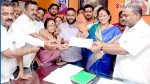 Shiv Sena gives out AB forms to candidates
