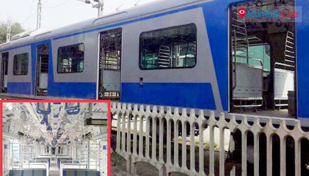 Successful static trial of AC local train