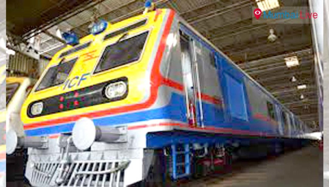 Static trial of AC local train starts