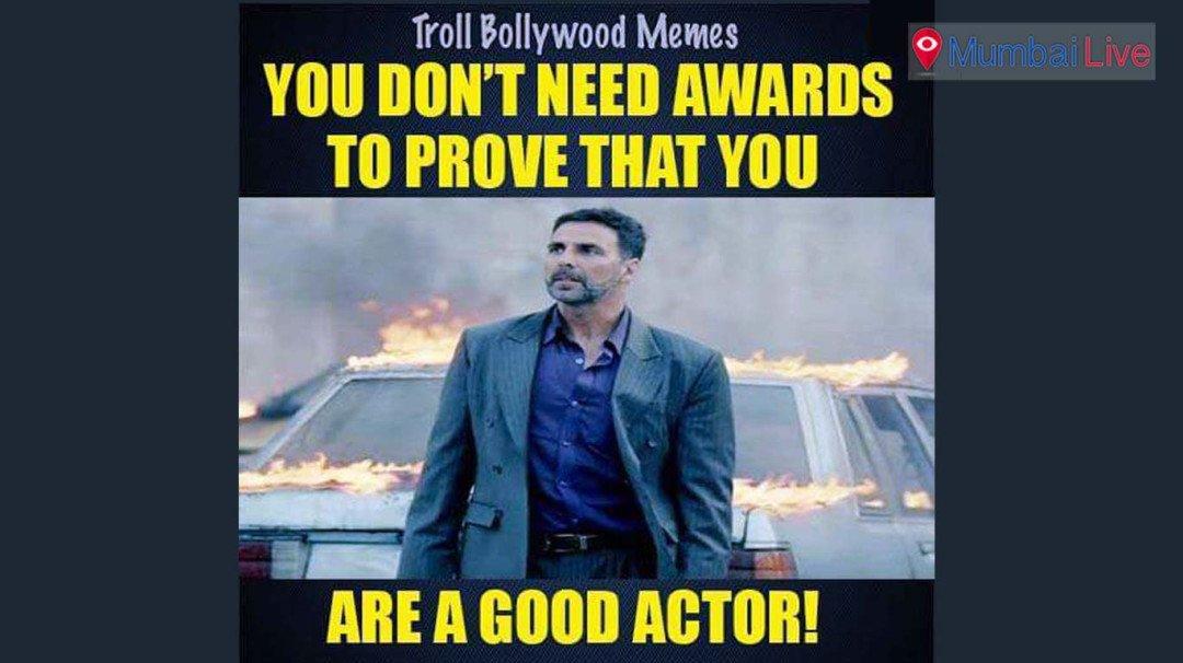 No Filmfare for Akshay