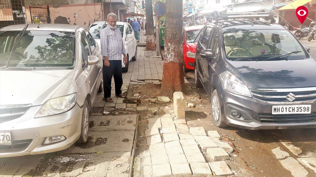 Footpath: A nuisance for people in Mumbai?