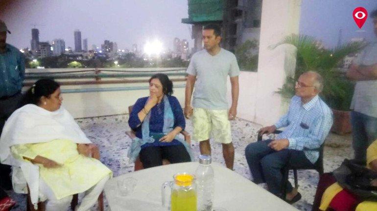 ALM volunteers strive to keep Shivaji park's premise dust free