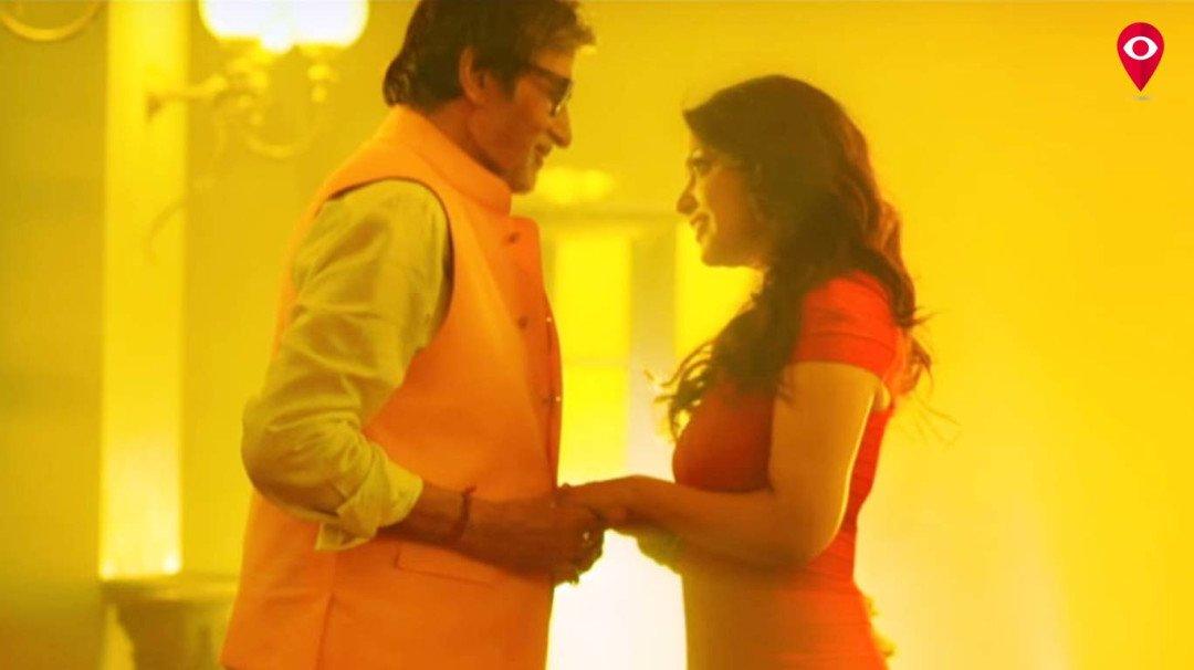 मुख्यमंत्री की बीवी के साथ थिरके अमिताभ बच्चन