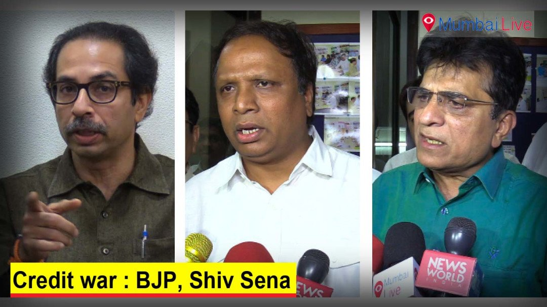 War for credit: BJP, Shiv Sena