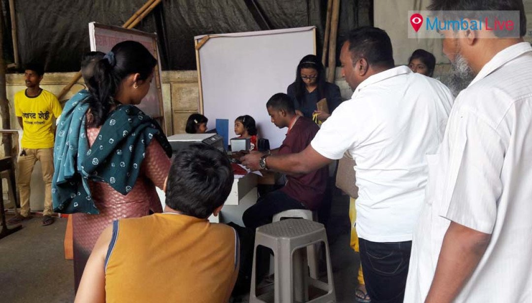 Aadhar card camp for children