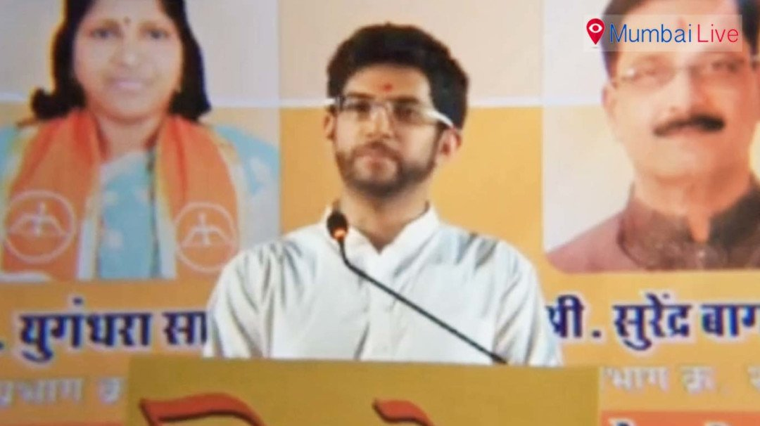 Aditya calls BJP- Bharatiya Jumla Party