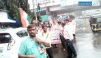 Protest against Vishnu Savara