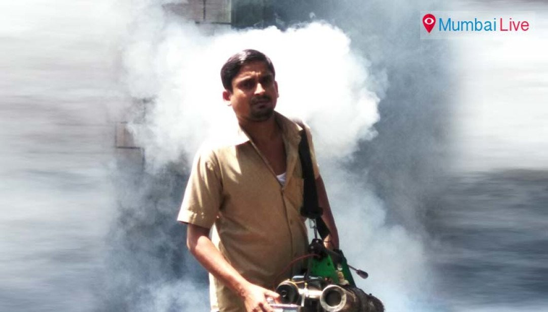 BMC conducts fogging at Borivali