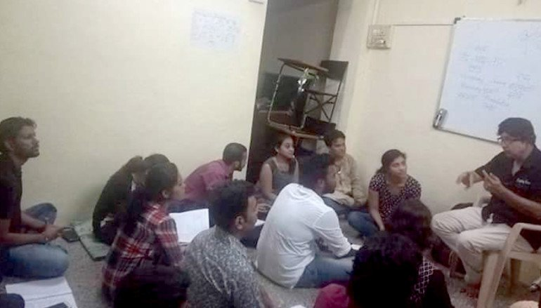 Workshop for theatre artists