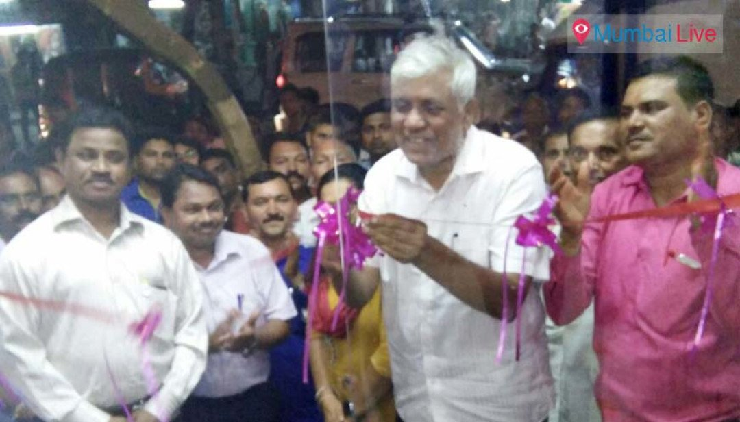 Inauguration of A/C toilet