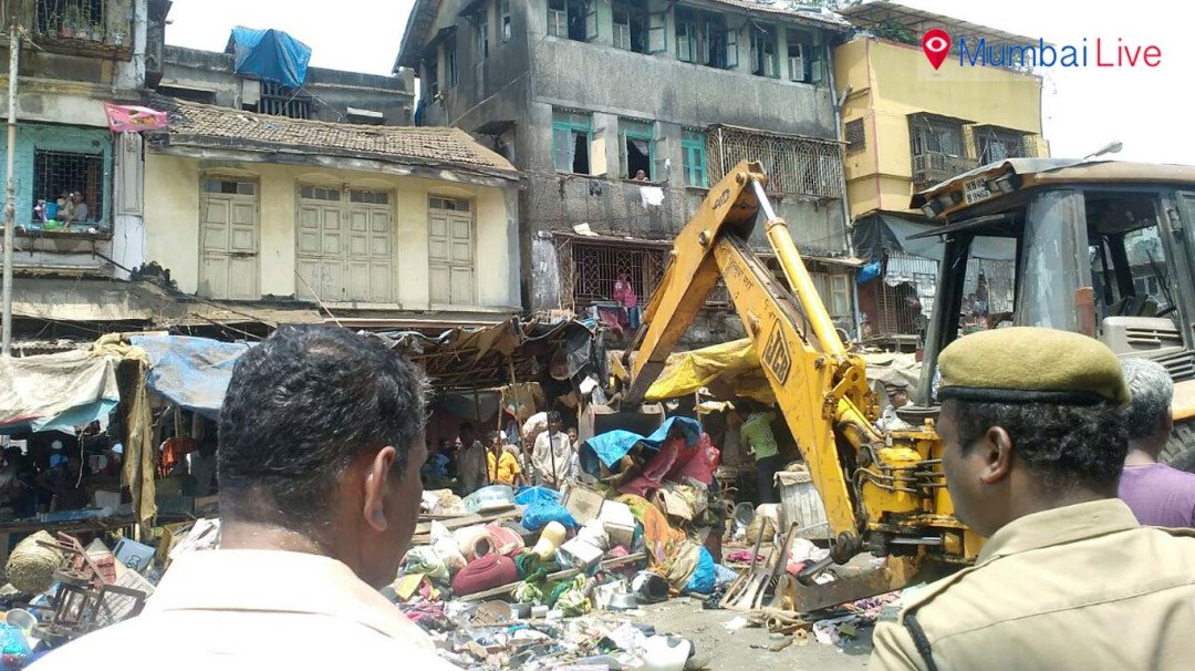 178 illegal structures removed by BMC at Brigadier Usman Marg