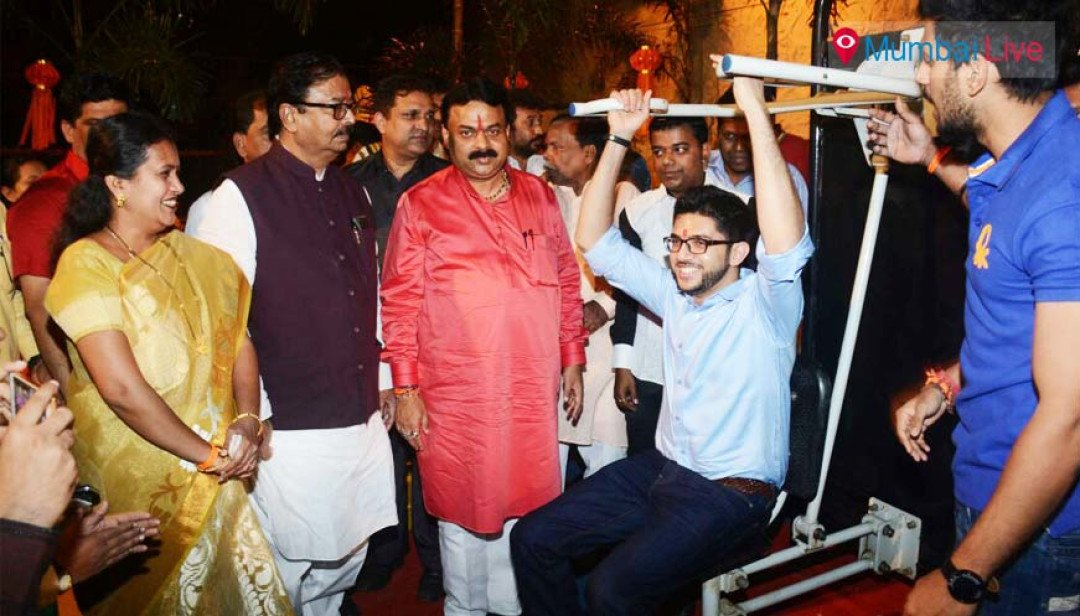 Aditya Thackeray inaugurates park