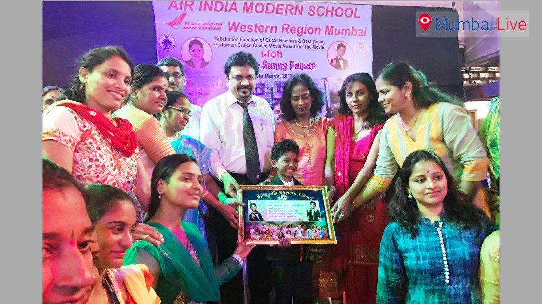 Air India Modern School fecilitates child actor Sunny Pawar