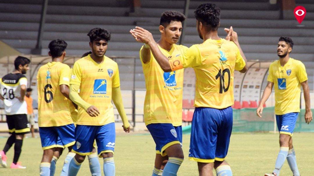 मुंबई एफसी ब विरुद्ध एअर इंडिया सामना बरोबरीत
