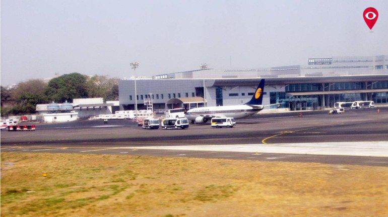 डोमेस्टिक एयरपोर्ट पर लगी आग