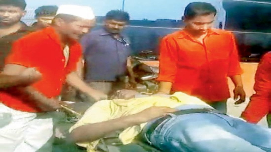 Railway's negligence kills a man who did not receive treatment in 'Golden Hour'