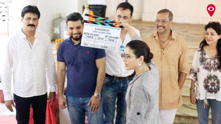 अजय देवगणच्या दुसऱ्या मराठी सिनेमाचा मुहूर्त