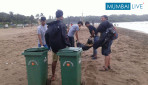 Aksha Beach Clean UP