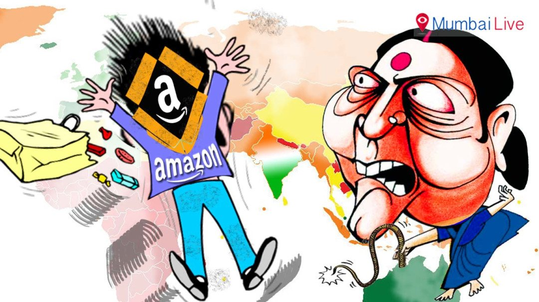 Swaraj shows Amazon the door, mate!