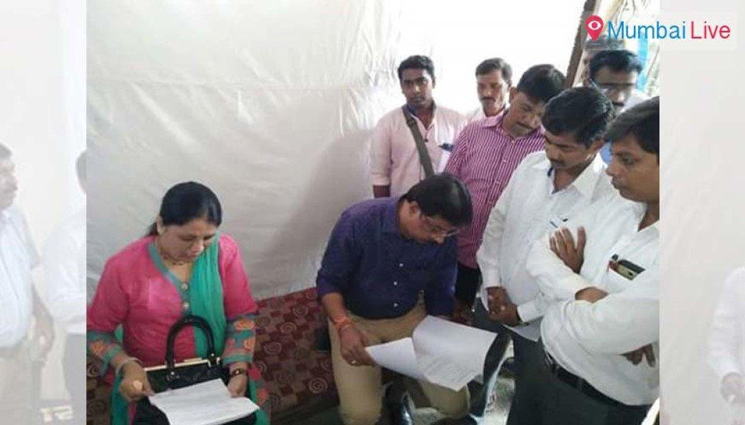 BMC constructs garden in Ambedkar Nagar