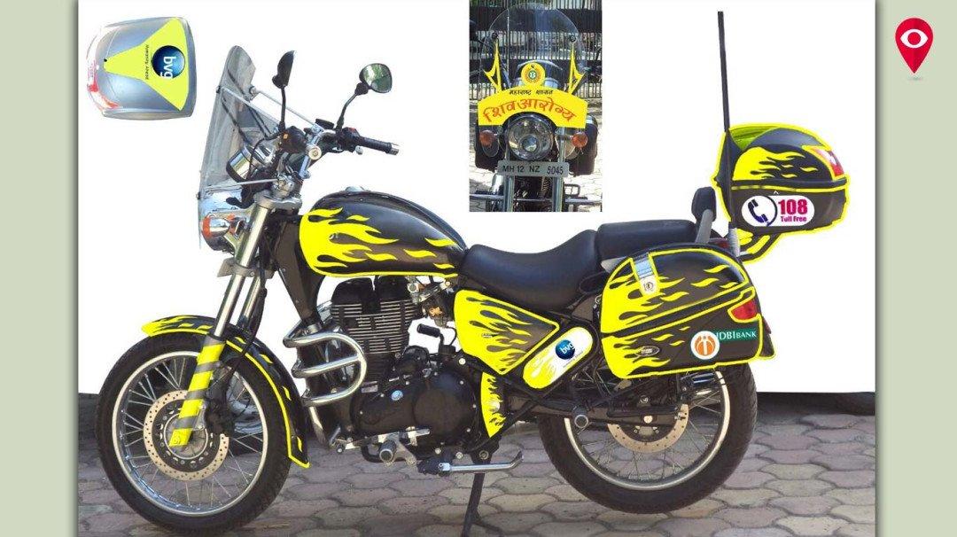 मुंबईत 'मोटार बाईक अॅम्ब्युलन्स' सेवा सुरू