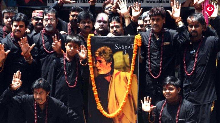 Sarkar Amitabh Bachchan's new statue unveiled