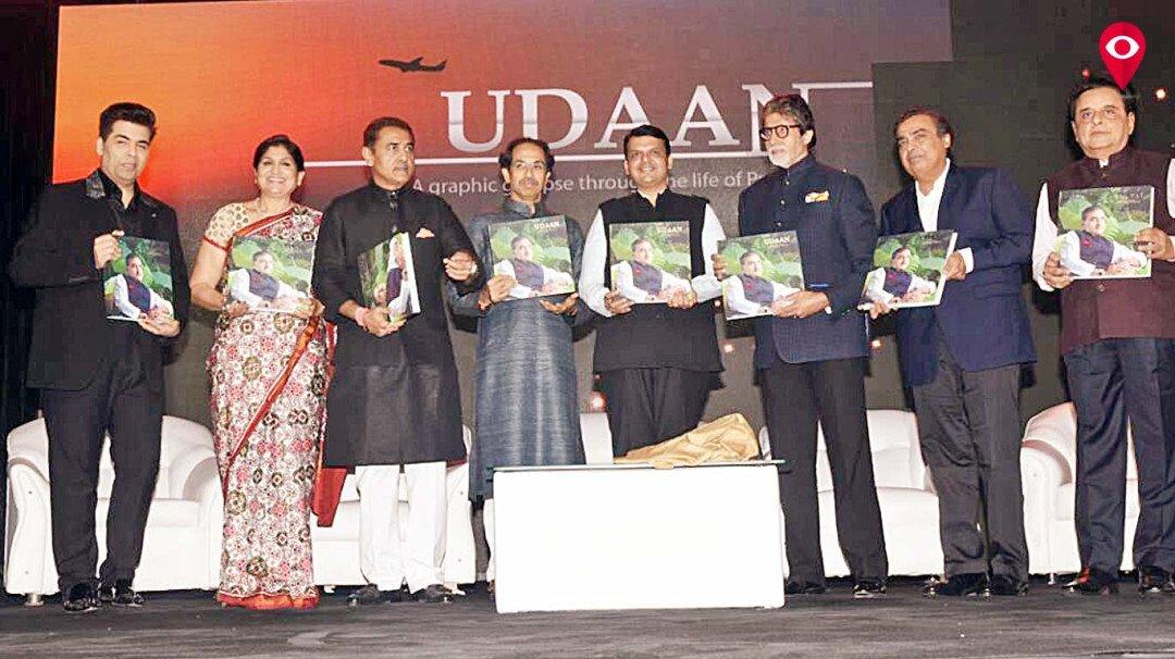 Amitabh Bachchan releases 'Udaan', biography of NCP leader Praful Patel