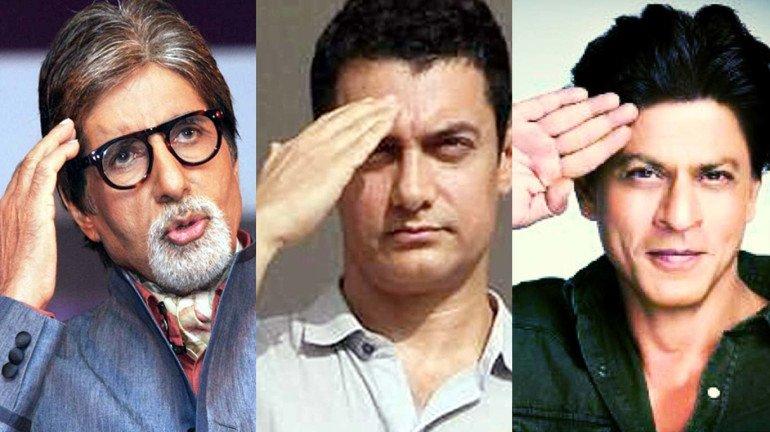 'आर्म्ड फोर्सेज फ्लैग डे' पर अमिताभ, आमिर और शाहरुख़ ने दिया यह संदेश