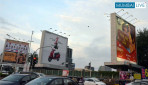 Lights on at Andheri's hoarding!