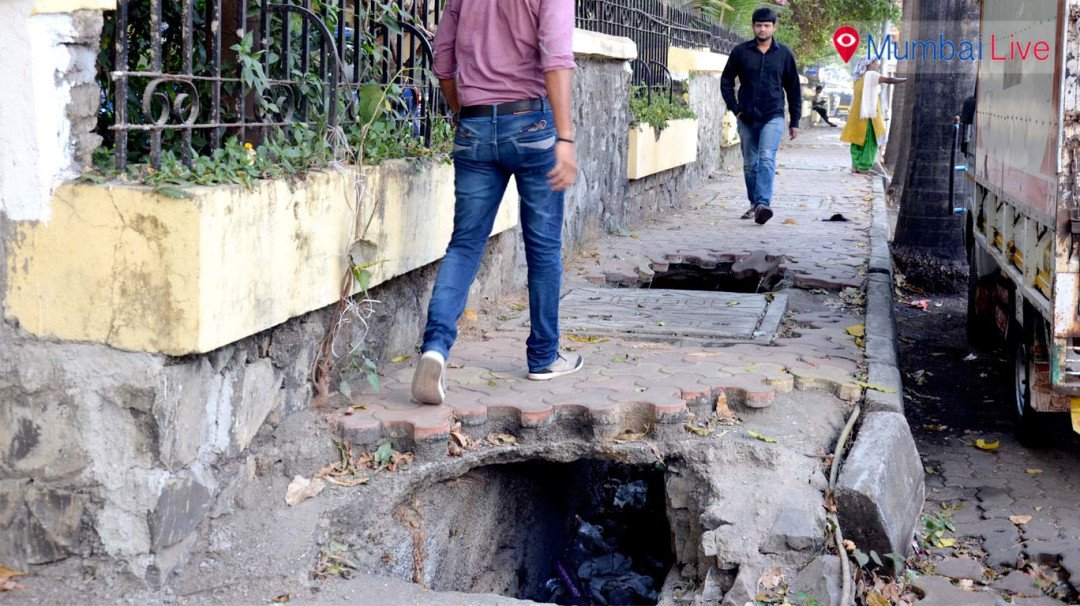 Open gutter woes for residents