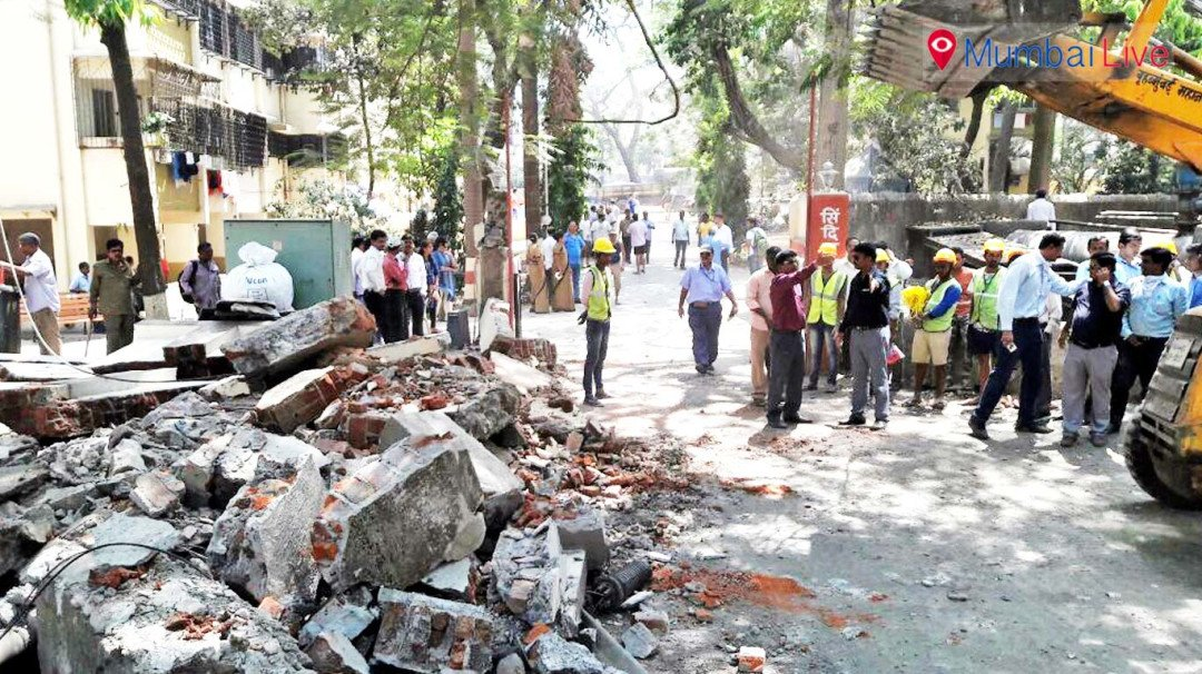 Encroached road freed, to be opened for traffic today