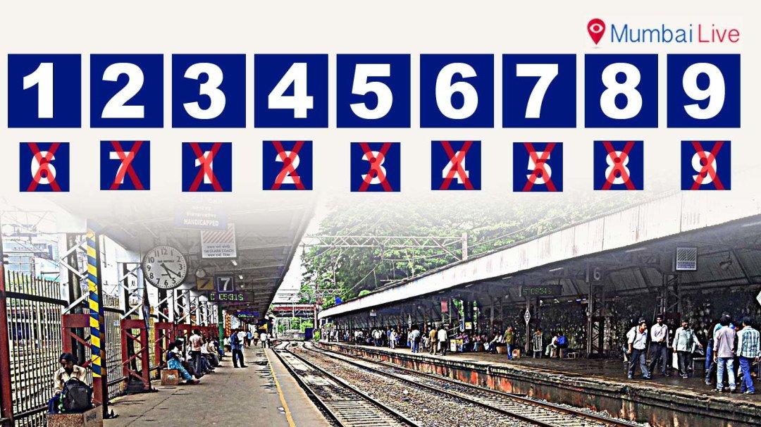 WR changes platform numbers