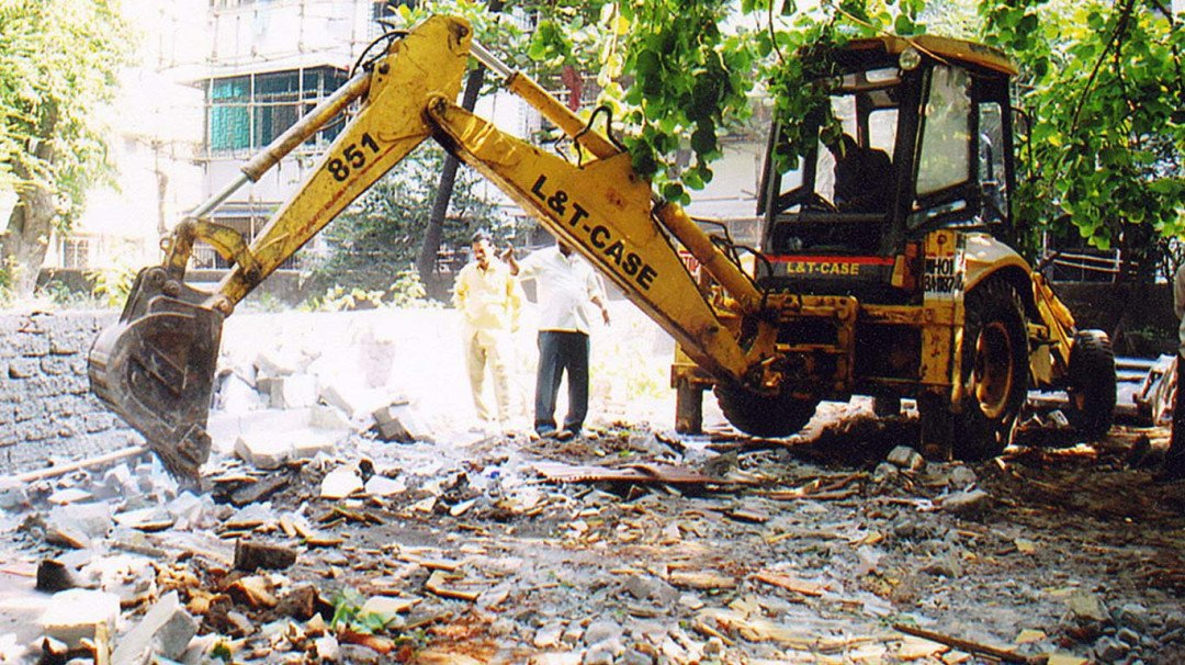 BMC start hawkers eviction drive in Andheri West